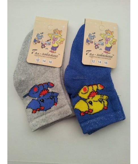 """Детские махровые носки """"Гал-новатекс"""" (размер 12,14)"""