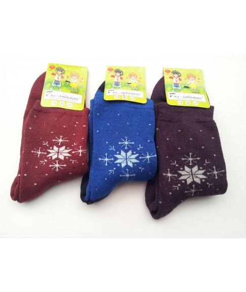 """Детские махровые носки """"Гал-новатекс """" (размер 20)"""