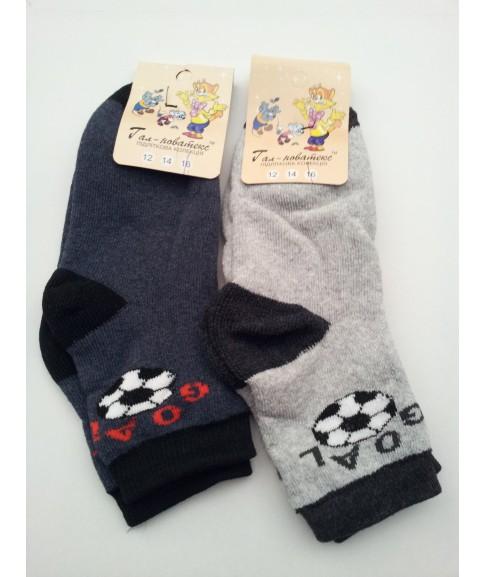 """Детские махровые носки """"Гал-новатекс"""" (размер 16)"""