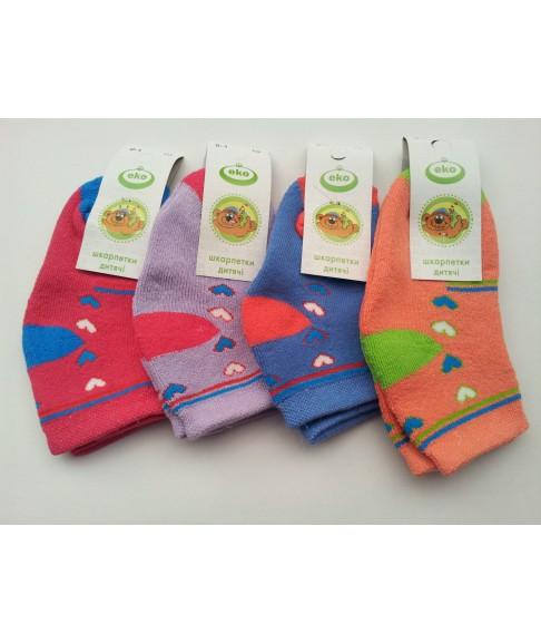 """Махровые детские носки """"Еко стиль"""" (размер 10)"""