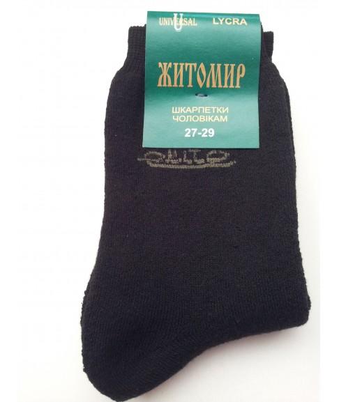 """Мужские махровые носки """"UNIVERSAL Житомир""""(LYCRA)"""