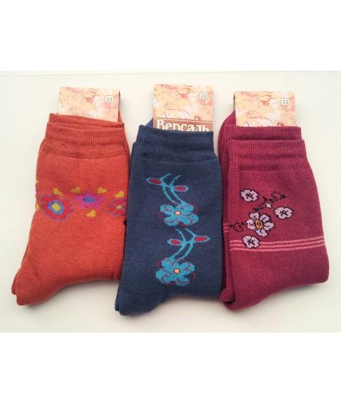 """Подростковые махровые носки """"Версаль"""" (размер 22)"""