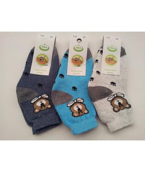 """Махровые детские носки """"Еко стиль"""" (размер 12)"""