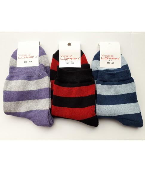Женские махровые носки Lomani