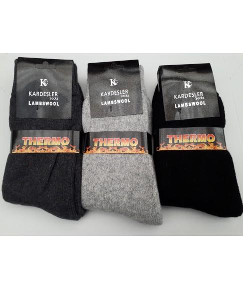 """Мужские махровые термо носки """"Kardesler Socks"""""""