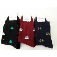 Женские махровые носки Lomani (новогодние)