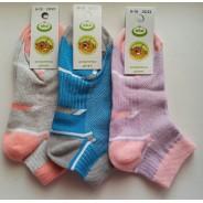 Носки подростковые сетка Еко стиль (размер 20 - 22)