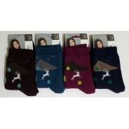 """Махровые женские носки """"Клевер"""""""