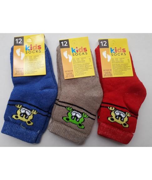 """Махровые детские носки """"Твой стиль""""(размеры 12,14, 16, 18)"""
