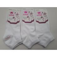 Носки женские Корона (белые) В2305
