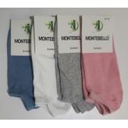 Носки женские MONTEBELLO (короткие)