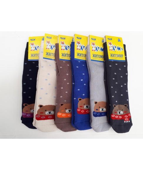 """Махровые детские носки """"Хома"""" (размеры 18-24)"""