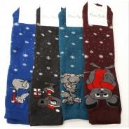 Махровые женские носки Клевер