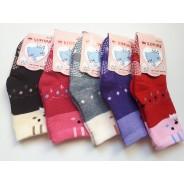 """Махровые детские носки с тормозами """"Корона"""" 3227"""